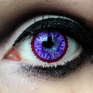 violetit piilolinssit