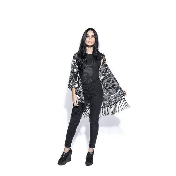 blackcraft kimono