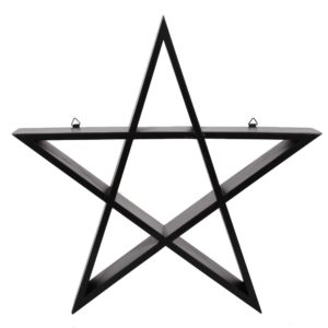 pentagrammi hylly