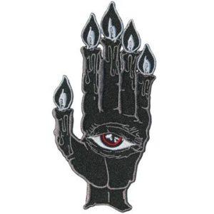 käsi hihamerkki